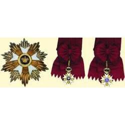 MEDALS BELGIUM                  ORDER OF THE CROW
