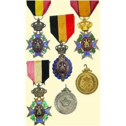 MEDALS BELGIUM                DECORATION FOR DILI