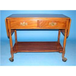 HENKEL-HARRIS WALNUT TEA CART