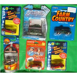 LOT OF 6 ASSORTED COLLECTOR CARS (ERTL, ROUGH AND TOUGH, HOTWHEELS, MAISTO) *MERCEDES, NITROX, 50 CH