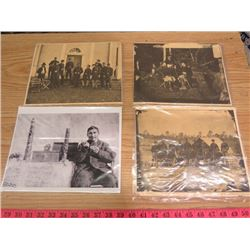 LOT OF ASSORTED PICTURES (CIVIL WAR, ETC)