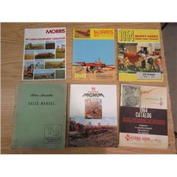 LOT OF VINTAGE FARM CATALOGUES
