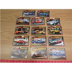 LOT OF STOCK CAR CARDS