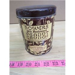 BOWERS PEANUT CAN
