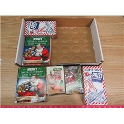 LOT OF CANDY BOXES