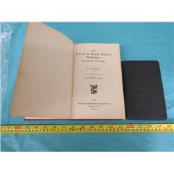 WATCH BOOKS FROM 1928 & 1938
