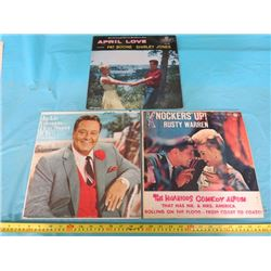 COMEDY RECORDS, CALENDAR AND COUNTRY POSTER