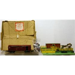 AMERICAN FLYER S GAUGE OPERATING STOCK YARD AND C