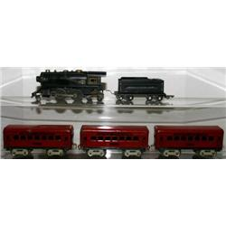 AMERICAN FLYER O GAUGE 2-4-4 STEAM LOCO AND TENDE