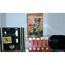 DISNEY MATTEL MICKEY MOUSE CLUB NEWSREEL. COMES W