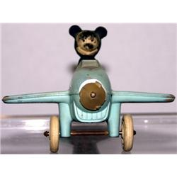 SUN RUBBER MICKEY MOUSE AIRMAIL AIR PLANE