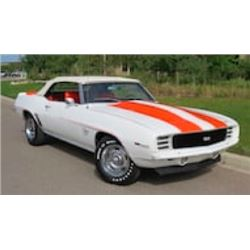 1969 CHEVROLET CAMARO RS/SS PACE CAR EDITION