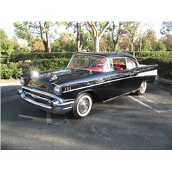 1:00PM SATURDAY FEATURE 1957 CHEVROLET BELAIR FUELIE REAL DEAL