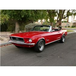 1968 FORD MUSTANG CONVERTIBLE J CODE