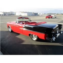 FRIDAY FEATURE 1955 CHEVROLET BEL AIR CONVERTIBLE CONVERTIBLE RESTOMOD PRO TOURING CUSTOM