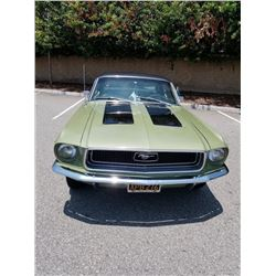 1968 FORD MUSTANG COUPE LEGEND LIME GOLD