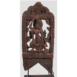 A SUPERB NEPALESE TEMPLE PANEL,c.17th Century of