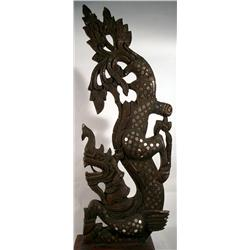 A SUPERB TEMPLE ROOF FINIAL,c.early 20th Century,