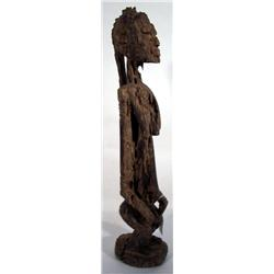 A SUPERB DOGON ANCESTOR SCULPTURE,c.1940s, of woo