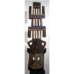 AN ETHNOGRAPHIC DOGON MASK (kanaga),c.1940s of wo