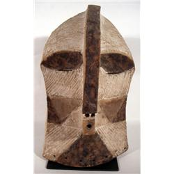 A FINE SONGYE KIFWEBE MASK,of wood, in classic st