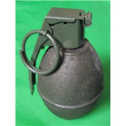 LEMON TYPE GRENADE (FOR DISPLAY ONLY) *VERY NICE MILITARY COLLECTABLE*