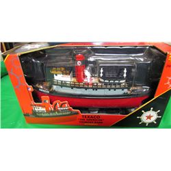 """TEXACO """"THE AMERICAN"""" TUGBOAT BANK (2002 MILLENIUM EDITION) *ERTL COLLECTIBLES*"""