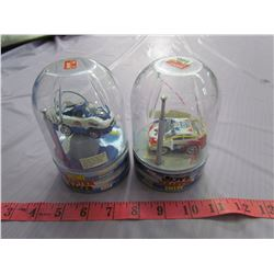 2 MINI MASTER RACERS (RADIO CONTROLLED, RECHARGEABLE) *49 AND 27MHz*