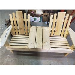 """CHILDS DOUBLE SEAT (51X20X26"""")"""