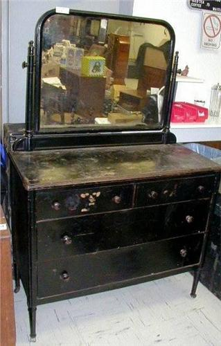 Image 2 Rare Antique Metal Dresser From Convent Hospital