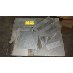 Lot of Assorted Stainless Plate