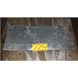 """Stainless Plate (304) 24""""3/4 x 11"""" x 1/16"""""""