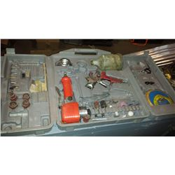 Air Tool Kit with Orbital sander & Spray Gun
