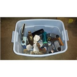 Plastic Bin with contain
