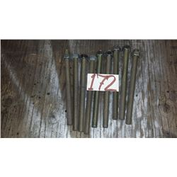 "Filleted Rod 9"" x 5/8""-11"