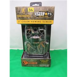 BROWNING TRAIL CAM (2 INCH COLOR SCREEN)