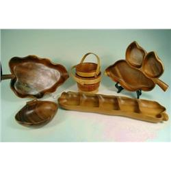 Monkey Pod/ Wood Serving Dishes