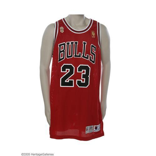 1996-97 Michael Jordan Finals Game Worn Jersey 1996-97 Michael Jordan  N.B.A. Finals Game Worn Jersey
