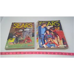 TWO SEARS CATALOGUES (1992 & 1993)