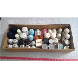 LOT OF SALT & PEPPER SHAKERS