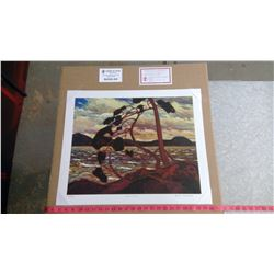 "WEST WIND BY TOM THOMSON (20"" X 24"" UNFRAMED REPRODUCTION)"