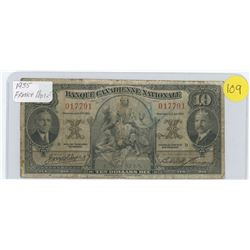 1935 French note