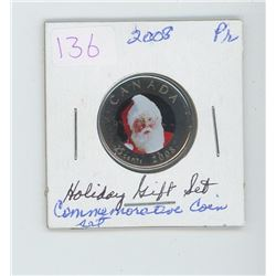 2008 holiday commemorative coin