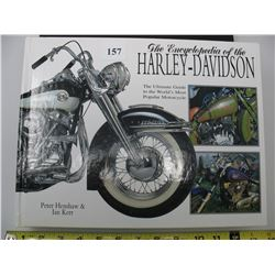 ENCYCLOPEDIA OF THE HARLEY-DAVIDSON BOOK   -  Book is Large and Heavy