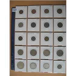 GERMANY COINS - LOT of 20 DIFFERENT