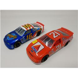 LOT OF TWO MODEL RACING CARS