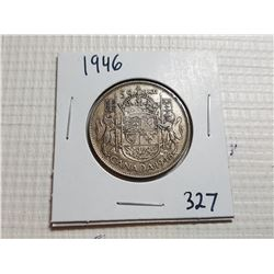 1946 50 CENT SILVER COIN