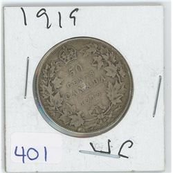 1919 50 CENTS (CANADA)