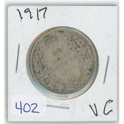 1917 50 CENTS (CANADA)