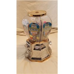 """GUMBALL MACHINE WITH CONTENTS (17"""" TALL) *HEAVY*"""